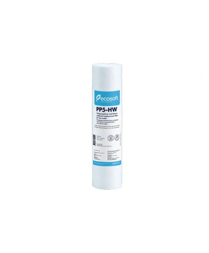 """Картридж из вспененного полипропилена для горячей воды Ecosoft 10"""" 5 мкм"""